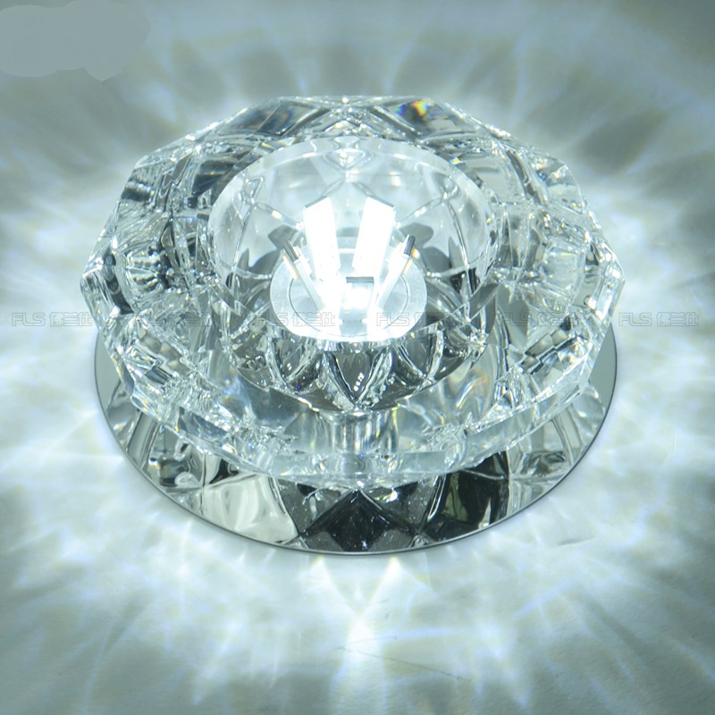 LED ceiling lamps 5W glass ceiling lamp LED ceiling lamps crystal lamp lights hall entrance hallway corridor lighting SD120