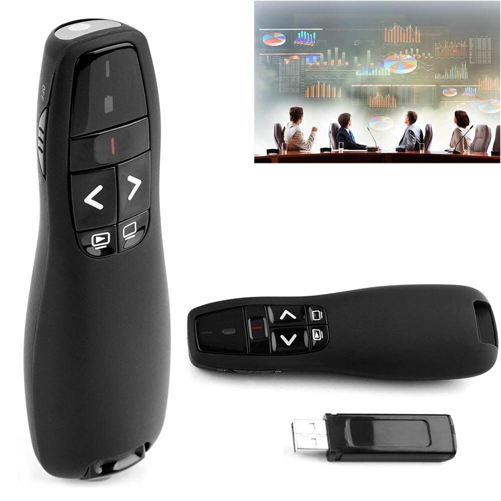 RF 2,4 ghz Wireless Presenter Präsentation 50 mt Palette USB Fernbedienung Powerpoint T Clicker 8 SL @ 88