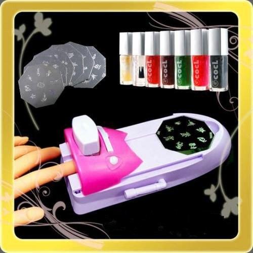 Nail Art Diy Pattern Printer Printing St Manicure Machine Ster Set Tool Image Plates