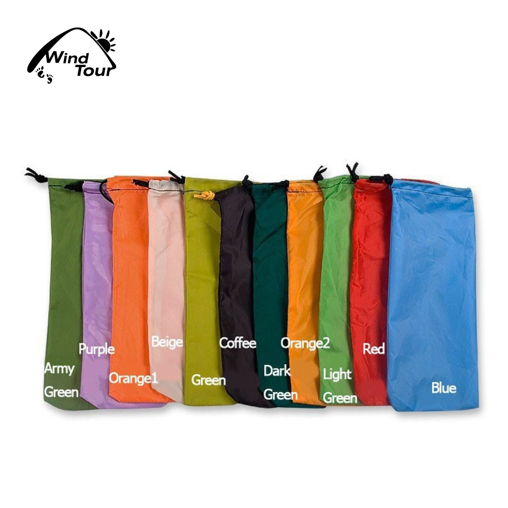 Wind Tour Nylon Tent Stake Bag Pegs Bag Ultralight Drawcord Cordlock 7.1 x 2  10g-in Storage Bags from Home u0026 Garden on Aliexpress.com | Alibaba Group  sc 1 st  AliExpress.com & Wind Tour Nylon Tent Stake Bag Pegs Bag Ultralight Drawcord ...