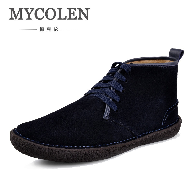 MYCOLEN Men Canvas New Spring Autumn Fashion Men's Shoes Male High Help Warm Shoes Casual Shoes Men Slip On Round Toe Flats 6v 1600mah vb power receiver battery for rc car model plane wholesale price dropship freeshipping