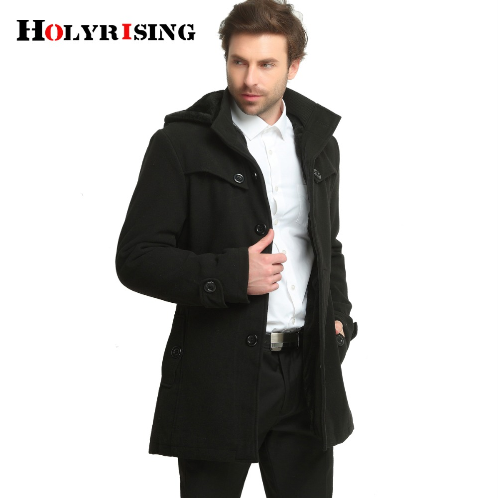 Holyrising winter jacket men thicken weight 1.5kg 2.2kg fashion mens jackets and coat menu0026#39;s ...
