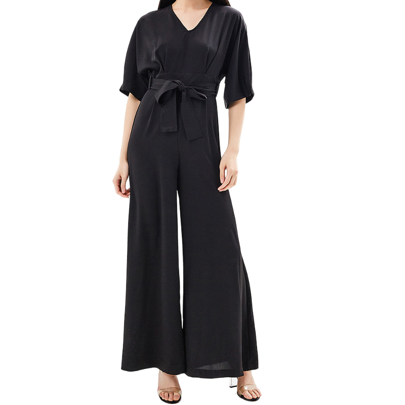 Jumpsuits, Playsuits & Bodysuits MODIS M181W00759 women cotton pants clothes apparel for female TmallFS цены онлайн