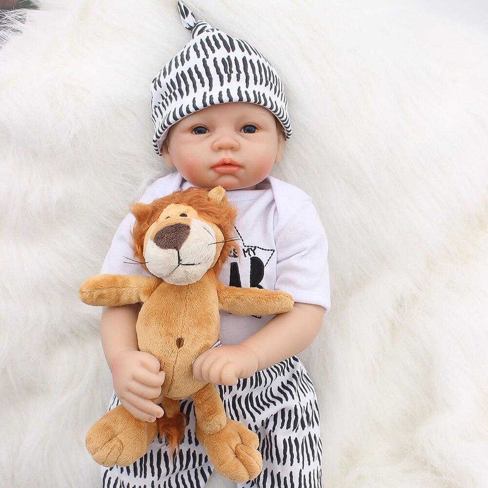Bebes reborn silicone poupées 22
