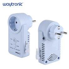 Prise intelligente GSM, EU, SMS, télécommande, minuterie, contrôleur de température, avec capteur, prise de courant