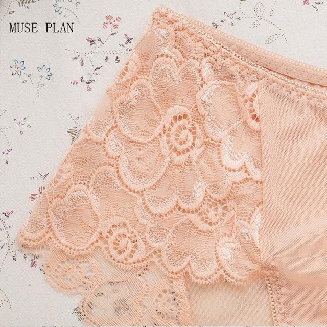 Women's briefs seamless lace plus size