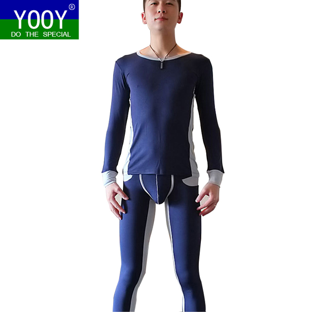 26854231f69b YOOY Men's Long Johns Clothes For Mens Warm Pants For Winter Thermal  Underwear Men Sexy Two Piece Set Sporting Men's Clothing