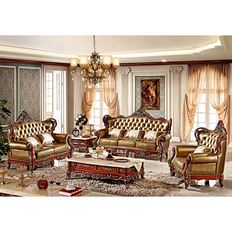US $3524.0 |Italian home living room furniture luxury classic european sofa  set-in Living Room Sets from Furniture on AliExpress