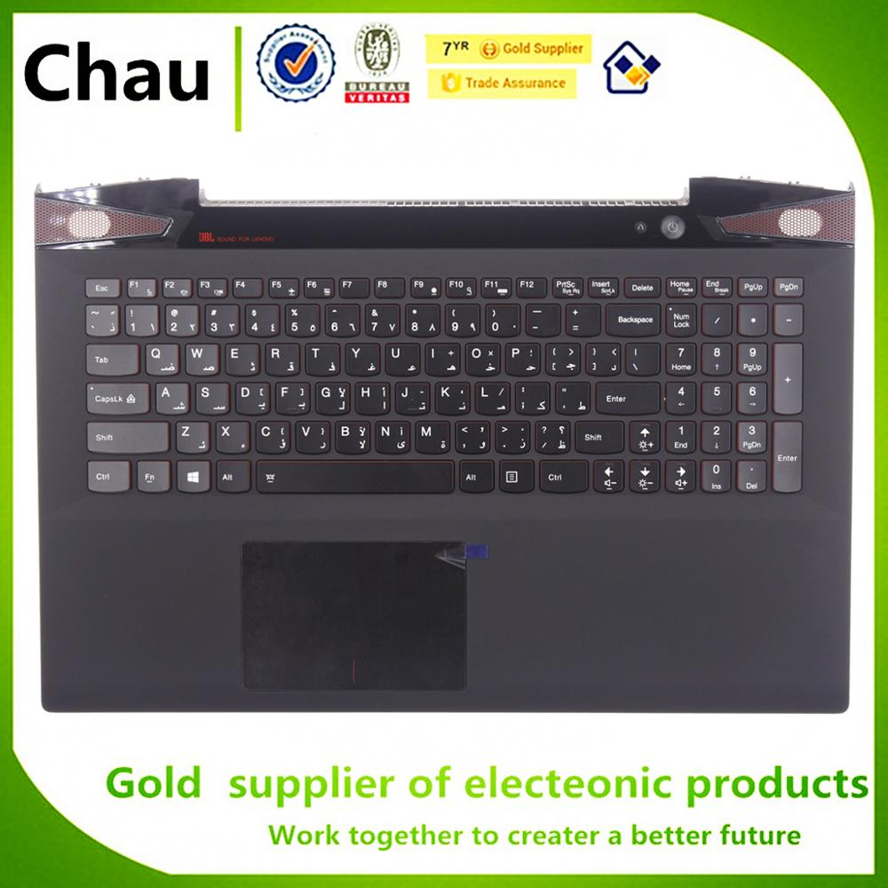 Nouveau pour Lenovo Y50-70 Y50-80 Y50 Y50P Y50P-70 dossier supérieur avec rétroéclairage du clavier veuillez vérifier la version texte