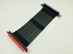 Image 2 - Cabo extensor flexível pci express 3.0 16x, alta velocidade, pc, placas gráficas, conector, cabo 23cm pcie riser