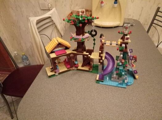 Blocos camp casa na Árvore balanço Classificação : Montagem