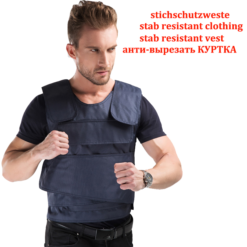 Effectively Block 24 Joules 4 Layer Stab Resistant Vest Soft Self-Defense Police Use Schutzweste Tatico Anti Covert Stab Vest
