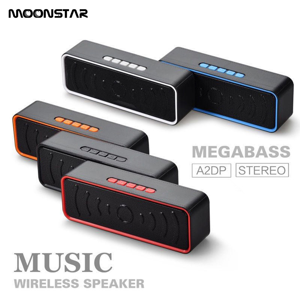 Hot selling Haut-parleurs Bluetooth With FM Radio For Bluetooth Receiver Computer Phones Tablet PC MP3 MP4 Hand Free Car Speaker