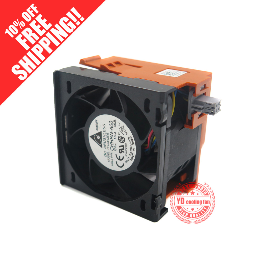 FOR DELL R710 server cpu cooling fan GY093 90XRN