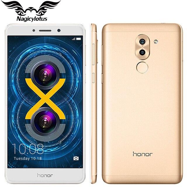 Оригинальный Huawei Honor 6x4 г LTE Hisilicon KIRIN 655 Octa Core Dual сзади Камера 5.5 ''4 ГБ Оперативная память 32 ГБ Встроенная память 1920 * 1080pix мобильного телефона