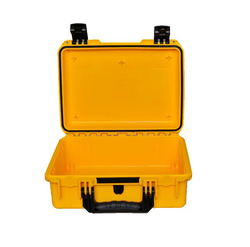 SQ002 Yellow color crush proof dust proof waterproof Safety Storage tool case without foam