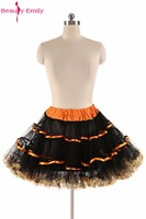 יופי אמילי 2017 כלה תחתוניות טול כדור שמלה קצרה תחתונית תחתוניות מיני צבעוני למכירה שמלות כלה חמה