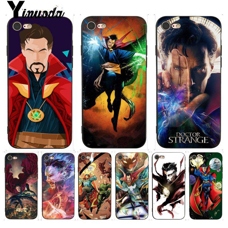 Original Dr Doctor Strange Anime Phone Case Cover Clear Hard Pc For Iphone Xs Max Xr 7 8 6 6s Plus X 5 5s Se 5c 4 4s Fundas Shell Coque Customers First Phone Bags & Cases
