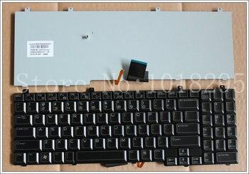Nuevo teclado negro con retroiluminación para ordenador portátil DELL para área de...