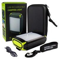 Mobile Power Bank Outdoor Camping Lamp Tent Light USB Port 5 Modes Portable Hanging Lamp 30LEDs Lantern Camping Light 6000mAh