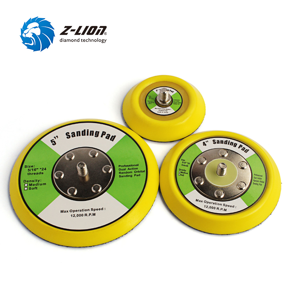 Tools Sporting Z-lion 2 Pcs Backing Pads 5/16 24t For Car Polisher Dual Action Polishing Machine Hook And Loop Backing Plate 3 4 5buffing Sophisticated Technologies