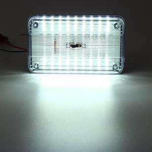 Image 5 - Luz de techo Interior ABS para coche, lámpara de techo blanca para barco casa rodante marino de 12V, accesorios, 36LED