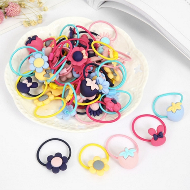 Children's Elastic Cartoon Hairband