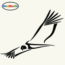HotMeiNi Sky Fly Freely Bald Eagle Tribal Condor Car Sticker for Window Bumper Kayak Car Decor Reflective Vinyl Decal 10 Colors(China)