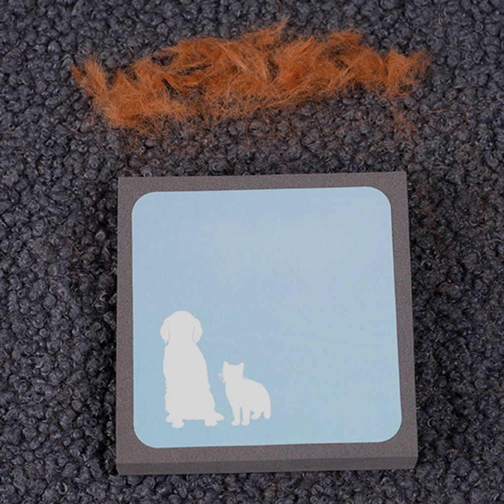 2019 nuevo dispositivo de eliminación de cabello Pet alfombra de pelo pegajosa sofá ropa cepillo de polvo reutilizable Pet removedor de pelo