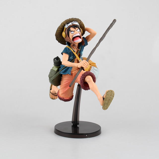 US $27 68 |21cm Big Monkey D Luffy Marineford Arc 4th Edition PVC Action  Figure Manga Figurines Anime One Piece Collection Model Red/Blue-in Action  &