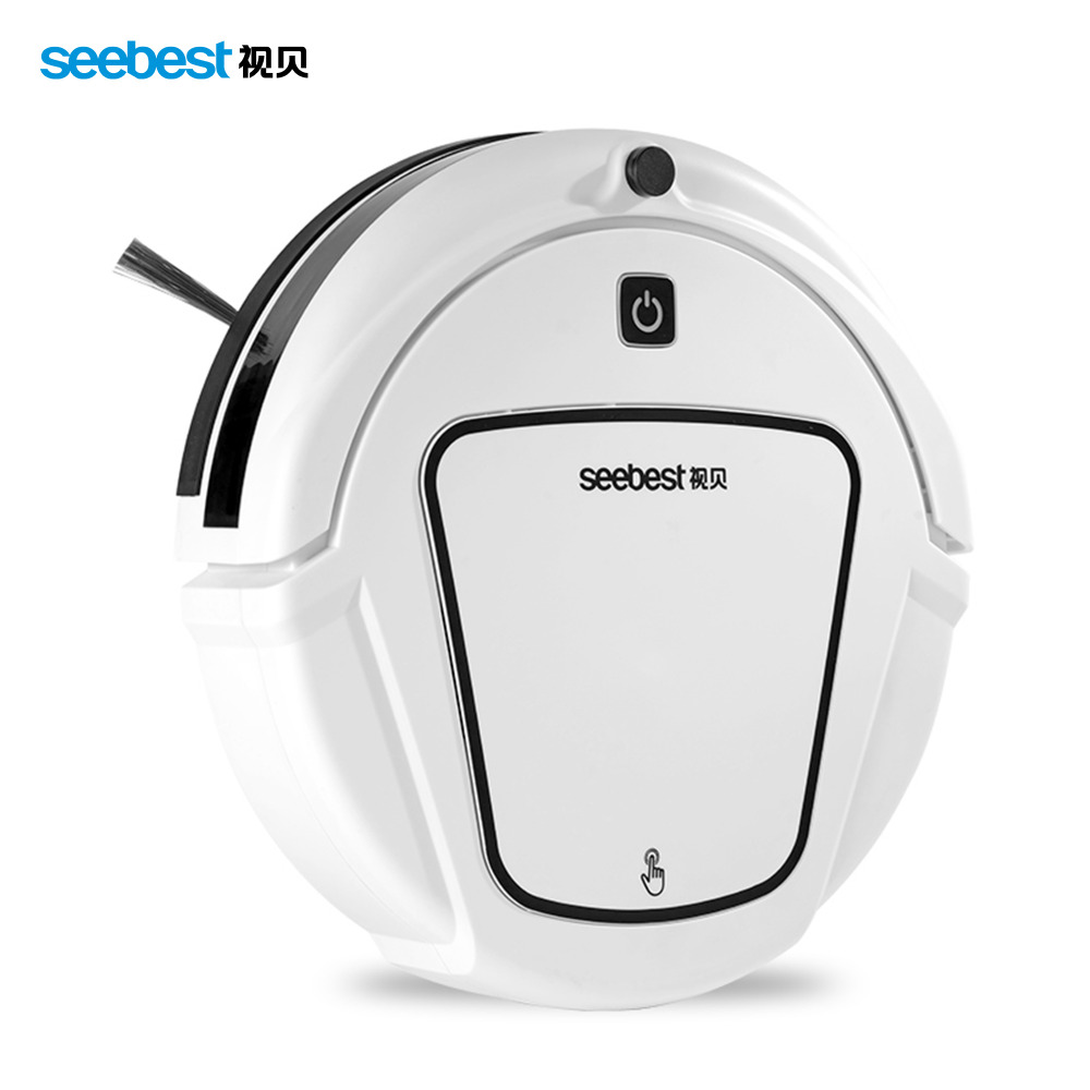 Seebest D720 MOMO 1.0 Dry Mopping Robot Vacuum Cleaner with Big Suction Power,2 side brush russia warehouse seebest d720 momo 1 0 intelligent robot vacuum cleaner with big dry mopping time schedule auto recharge