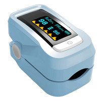Health Care Pulse Oximeter Blood Monitor OLED Finger Blood Oxygen Saturation Monitor Heart Rate Portable