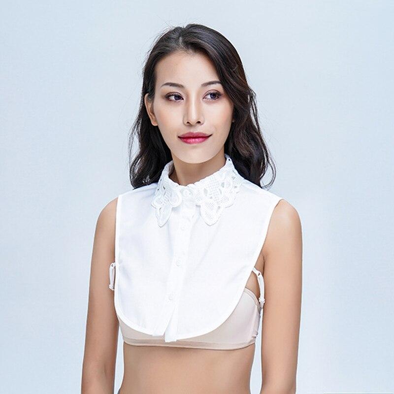855e95f58e8bc Hot Sale  Simple Women Pure Color Lace 2019 fashion Blouses ...