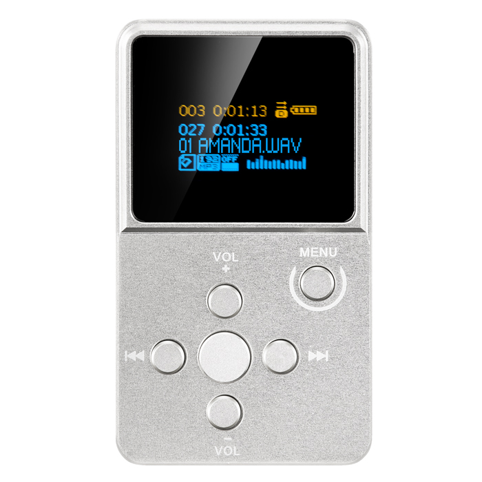 Newest XDUOO X2 High Fidelity Lossless Protable Music Player HIFI Mini Mp3 With OLED Screen Support MP3 WMA APE FLAC WAV Format купить недорого в Москве