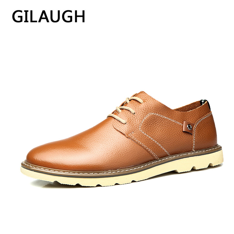 Genuine Leather Men Leather Shoes Casual 2016 Spring/Summer Fashion Oxfords Shoes Casual Men shoes Breathable Flats genuine leather shoes men casual