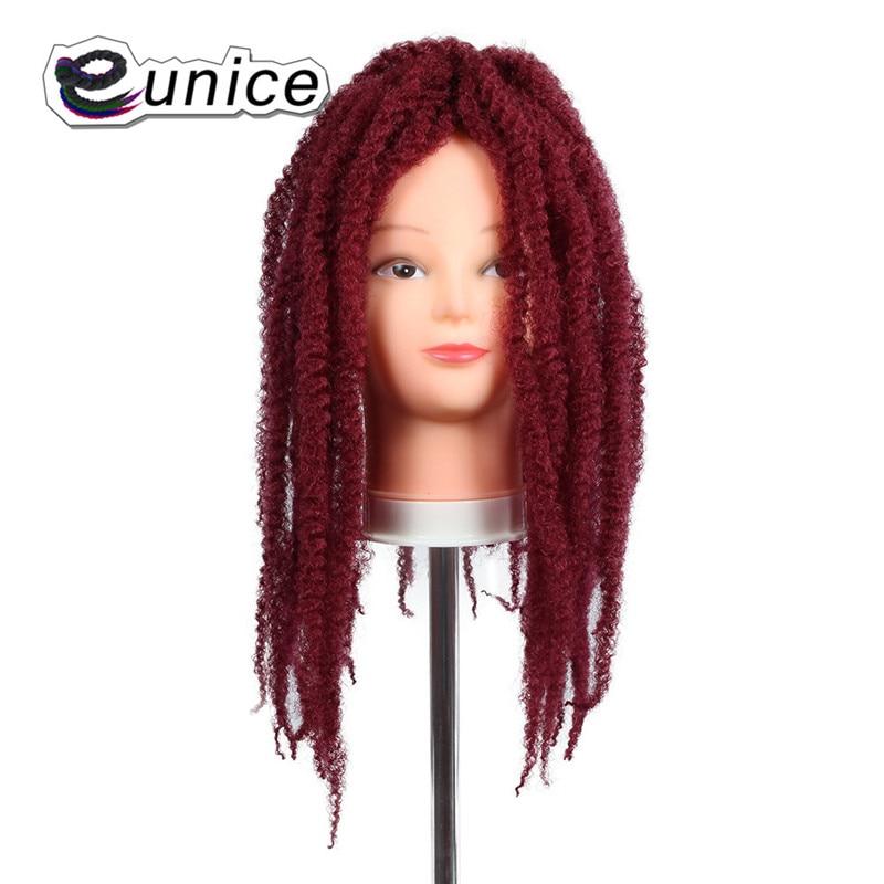 Marley Braids Hair Extension Synthetic Ombre Afro Kinky Crochet Kanekalon Braiding Hair (23)