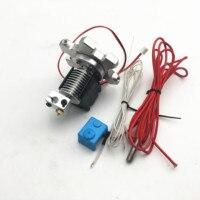 Funssor V6 j-head Hotend  Kit con conector de ojo de pez M4 Delta Kossel