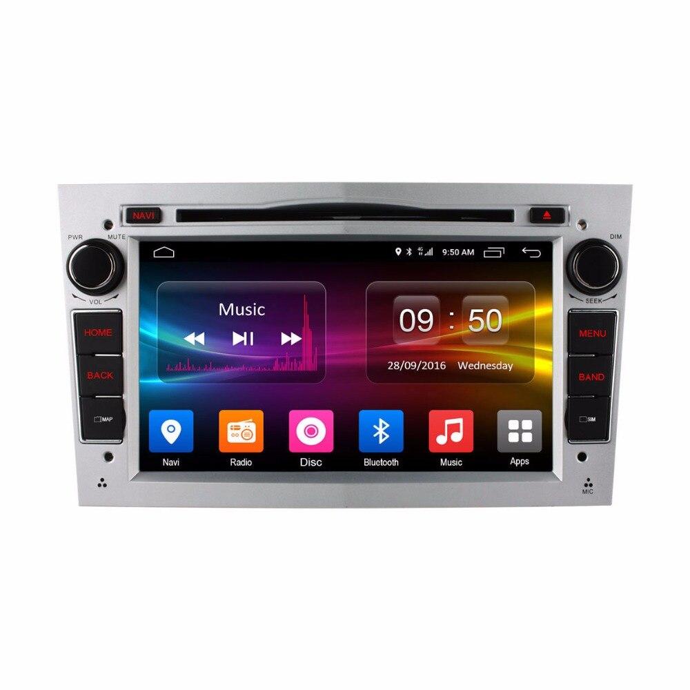 vehicel 2 din car radio gps Android 6.0 with bluetooth USB car dvd For Vauxhall Opel Astra H G J Vectra Antara Zafira wifi 4G