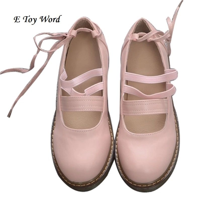 2016 Japanese soft sister Oxford bottom bind doll shoes princess women's singles round head students summer B7654 phil collins singles 4 lp