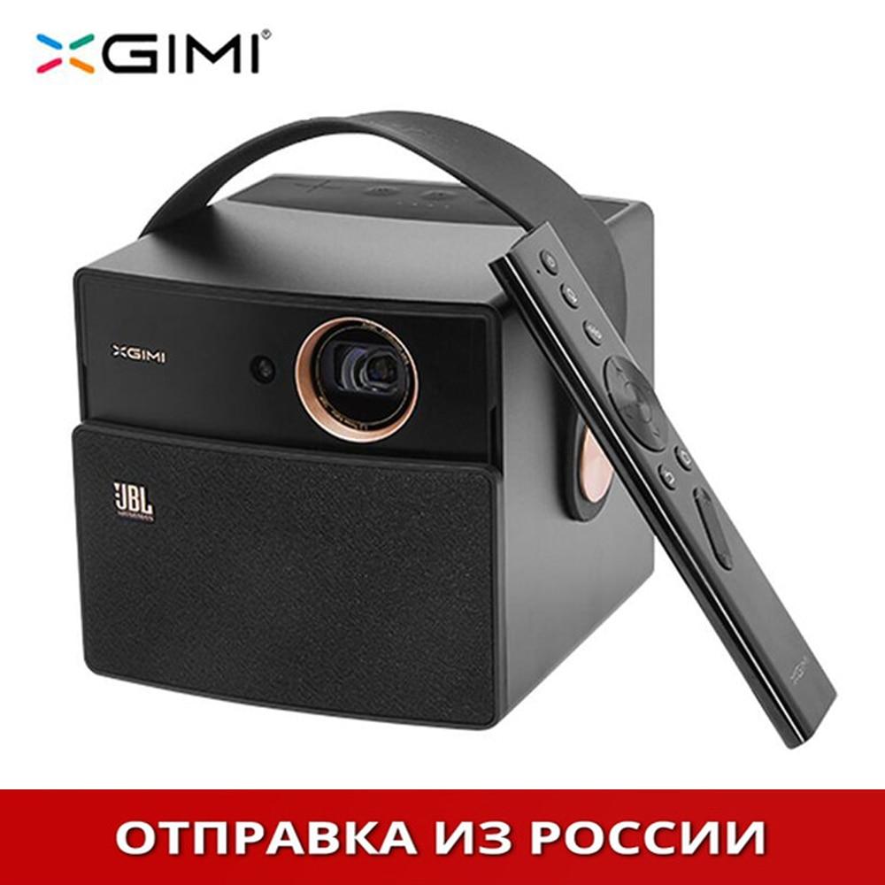 Черный XGIMI CC Аврора DLP проектор для дома ТЕАТР Android Поддержка портативный 3D 4 K HD видео с батарея projecteur