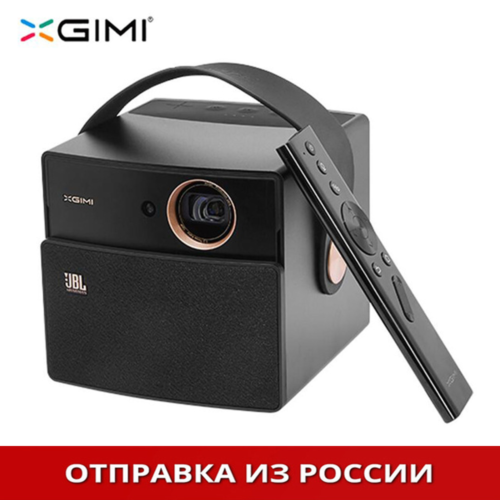 Nero XGIMI CC Aurora Proiettore DLP Home Theater Android di Sostegno Portatile 3D 4 k HD Video Con La Batteria di Video projecteur