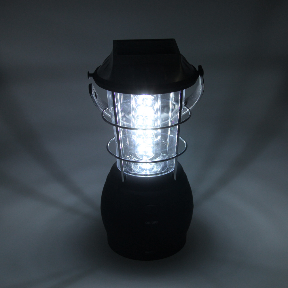 30W Super Bright Hand Crank Dynamo Solar 36 Led Camping Lantern Light Lamp Portable Tent Flashlight Outdoor Hiking Emergencies ry t91 solar hand crank 42lm 7 led dynamo camping lantern lamp black