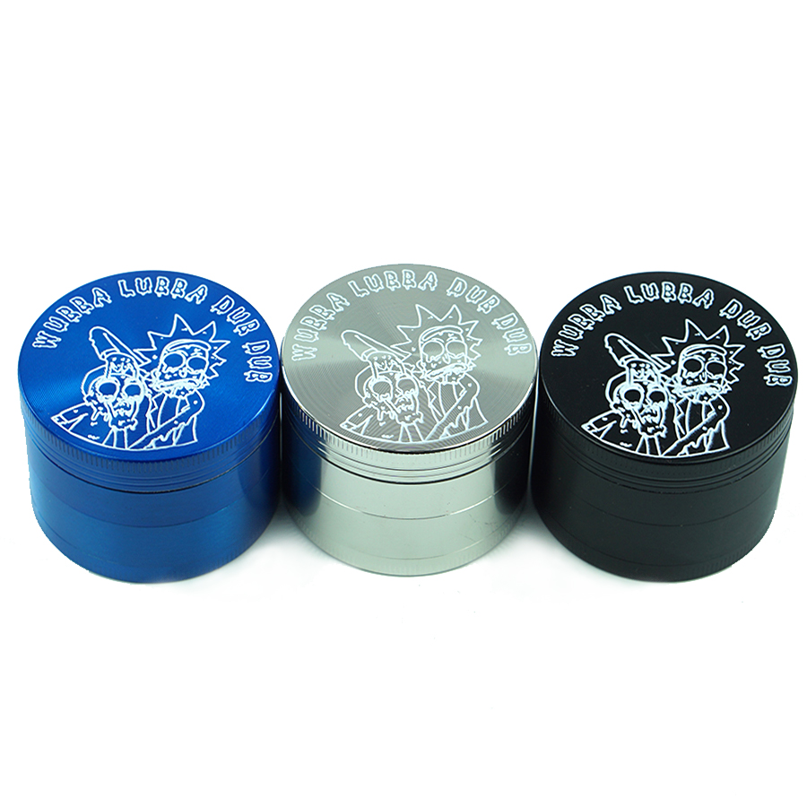Premium Zinc Alloy Herb Tobacco Grinder 2 2 Inches 4 layee Metal Grinder with Pollen