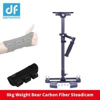Famous carbon fiber handheld camera stabilizer 8KG bear DSLR video steadicam steadycam for Nikon Canon VS Glidecam HD2000