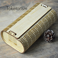 High end designers fashion Handmade wooden sunglasses box bamboo cases for eyeglasses W6