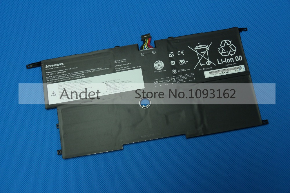 New Genuine Laptop Batteries for Lenovo ThinkPad X1C X1 Carbon Gen 2 20A7 20A8 Battery 45N1701 45N1702 45N1703 20v 4 5a 90w adlx90ndc2a 36200285 45n0243 45n0244 laptop ac adapter for lenovo thinkpad x1 carbon series touch ultrabook