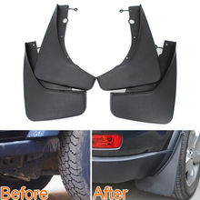 4pcs/set Mud Flaps Splash Guards Front + Rear Mudguards Mudflaps Fender For Grand Cherokee 2011-2016 Car Styling