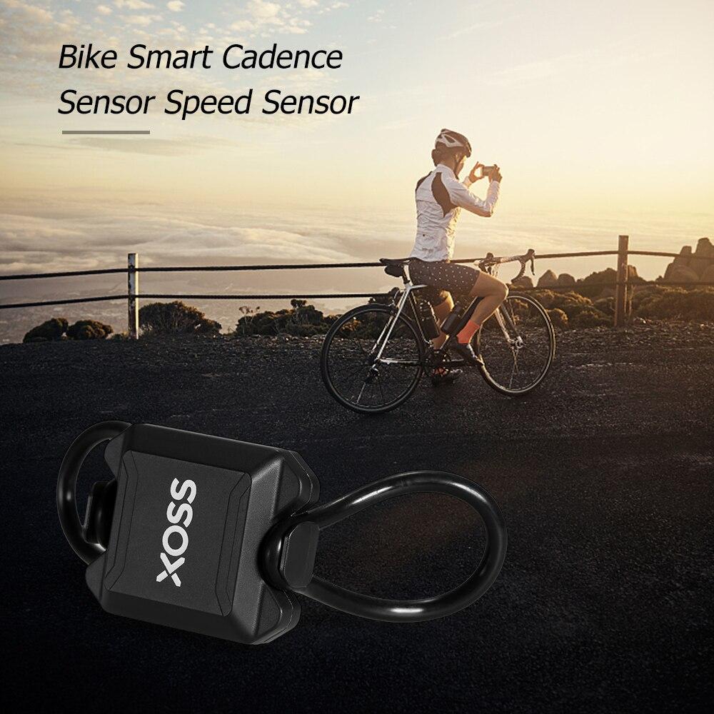 Vélo Vélo Sans Fil Ordinateur de Vélo Intelligent Cadence Capteur Capteur de Vitesse Compteur De Vitesse Cycle Ordinateur pour BT 4.0LE pour ANT + dans Ordinateur à vélo de Sports et loisirs