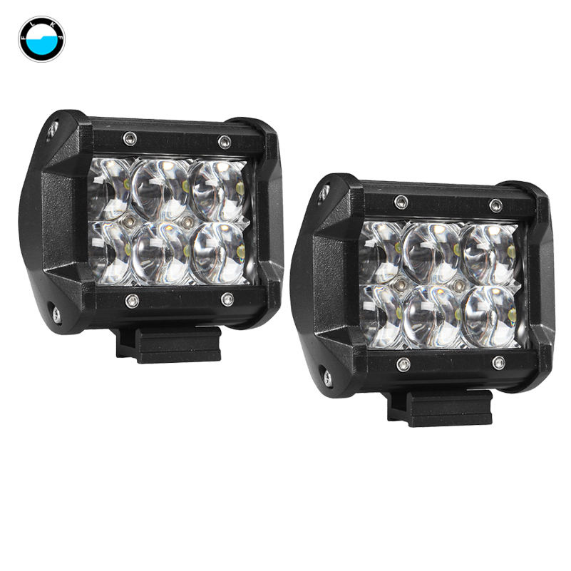 4 inch 30W LED Work Light Bar for Truck SUV Boat ATV 4x4 4WD 4'' 5D LED Work Light for Tractor Boat OffRoad . image