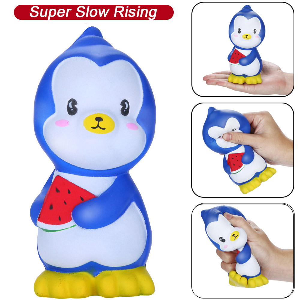 Squeeze Toys Squeeze Toys Squishies Adorable Narwhal Moon Slow Rising Fruits Scented Squeeze Stress Relief Toys Novelty Toy Product Stress Relief Toy